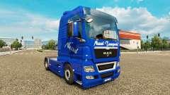 Urtiga Transportes de pele para HOMEM caminhão