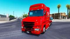 Dom Toretto pele para caminhão Scania T
