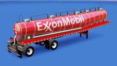 Pele ExxonMobil química tanque