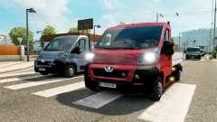 Peugeot Boxer de Recebimento para o tráfego para Euro Truck Simulator 2