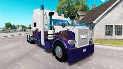 Skin para o caminhão Peterbilt 389