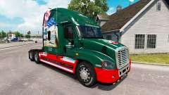 Скин INTERSTATE 80 Anos на Freightliner Cascadia