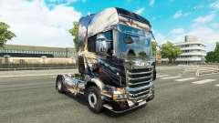 Para a pele do Scania truck