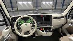 Interior Verde de Discagem para Kenworth T680