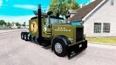 WW2 Estilo de pele para o caminhão Peterbilt 389