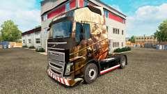 Husaria de pele para a Volvo caminhões para Euro Truck Simulator 2