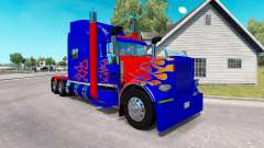 Pele Optimus Prime v2.0 trator Peterbilt 389