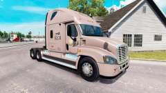Скин KLLM de Transporte на Freightliner Cascadia