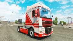 TruckSim pele para caminhões DAF
