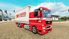 H. Essers de pele para HOMEM TGX caminhão trator