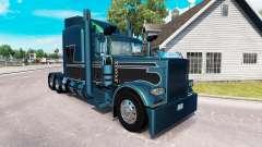 2 Metalizado pele para o caminhão Peterbilt 389