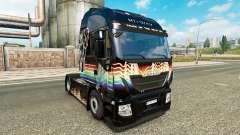 Rainbow Dash pele para Iveco unidade de traciona