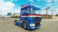 O H. Z. Transporte de pele para caminhões DAF
