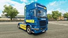 Pele de La Poste para trator Scania