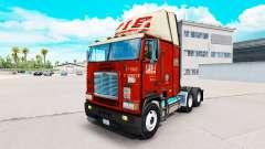 Pele de PIZZA no caminhão Freightliner FLB