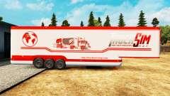 Semi-reboque-o frigorífico TruckSim