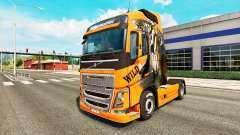 Selvagens de pele para a Volvo caminhões