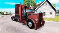 Metalizado pele para o caminhão Peterbilt 389