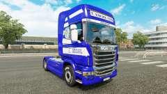 Pele T. van der Vijver no tractor Scania