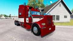 Barão vermelho com a pele para o caminhão Peterb