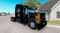 Pele Ghost Rider v2.0 trator Peterbilt 389