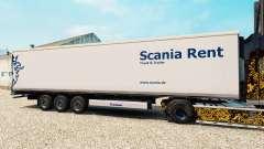 Pele Scania Alugar para o semi-refrigerados