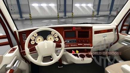 O interior é Retro Dial para Kenworth T680 para American Truck Simulator
