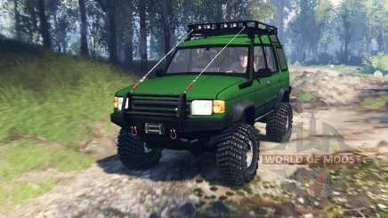 Land Rover Discovery v4.0 para Spin Tires
