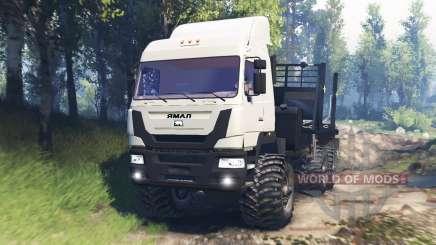 O Yamal-6 v3.0 para Spin Tires