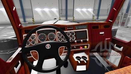 Interior para o Kenworth W900 para American Truck Simulator