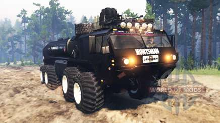 Oshkosh HEMTT M977 Huntsman para Spin Tires
