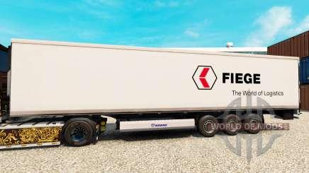 Pele Fiege Logistik para o semi-refrigerados para Euro Truck Simulator 2