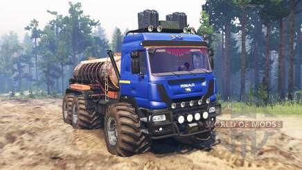 O Yamal-6 para Spin Tires