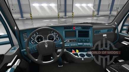 Interior Mostrador Azul para Kenworth T680 para American Truck Simulator
