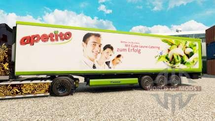 Pele Apetito para o semi-refrigerados para Euro Truck Simulator 2