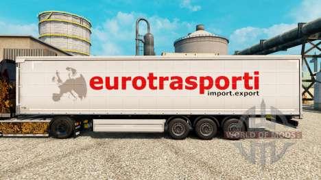 Pele de Transporte para o Euro semi para Euro Truck Simulator 2