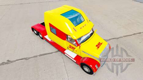 Pele DHL para um Conceito de caminhão caminhão 2 para American Truck Simulator