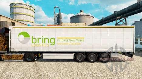 Pele de Trazer Logística para reboques para Euro Truck Simulator 2