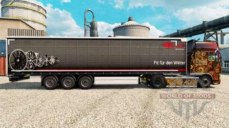 Brock pele para reboques para Euro Truck Simulator 2