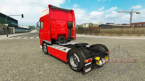 Pedro Appel pele para caminhões DAF para Euro Truck Simulator 2