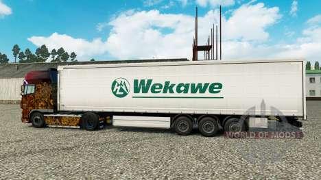 Pele Wekawe para reboques para Euro Truck Simulator 2