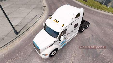 Raven pele para o caminhão Peterbilt 387 para American Truck Simulator