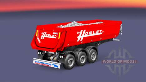 Semi-reboque basculante Schmitz Cargobull Hoslet para Euro Truck Simulator 2