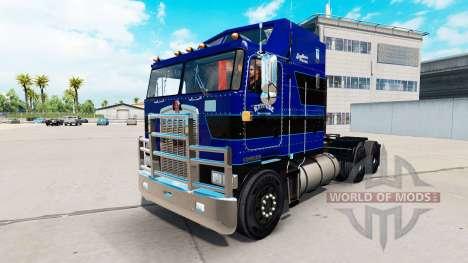 Pele de couro cru de Camionagem LLC caminhão tra para American Truck Simulator