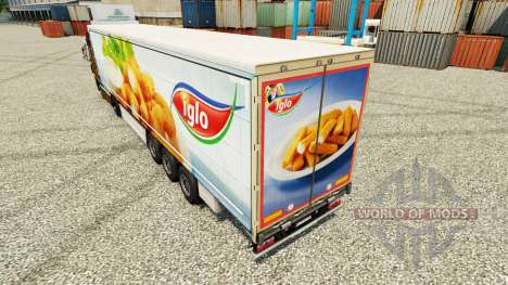 A Iglo pele para reboques para Euro Truck Simulator 2