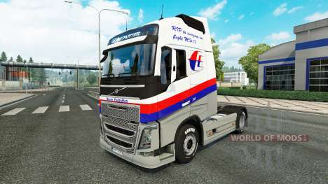 Malasian companhias Aéreas pele para a Volvo cam para Euro Truck Simulator 2