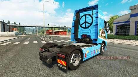 Unicef pele para a Volvo caminhões para Euro Truck Simulator 2