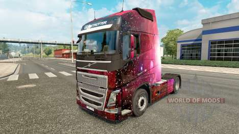 Weltall pele para a Volvo caminhões para Euro Truck Simulator 2