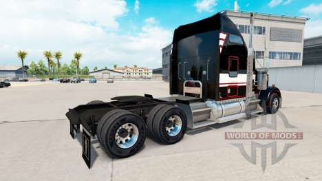 A pele em STL Linehaul Kenworth W900 trator para American Truck Simulator