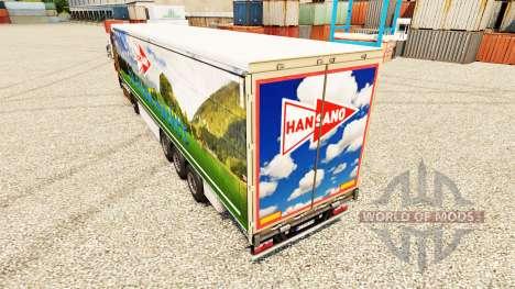 Han Sano pele para reboques para Euro Truck Simulator 2